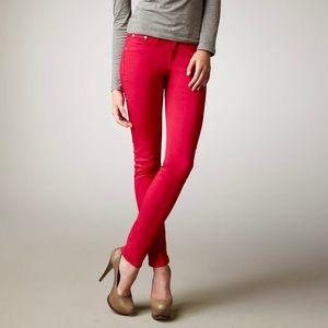 RAG & BONE Red Legging Jeans
